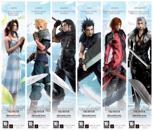 FF7-Character-Bookends