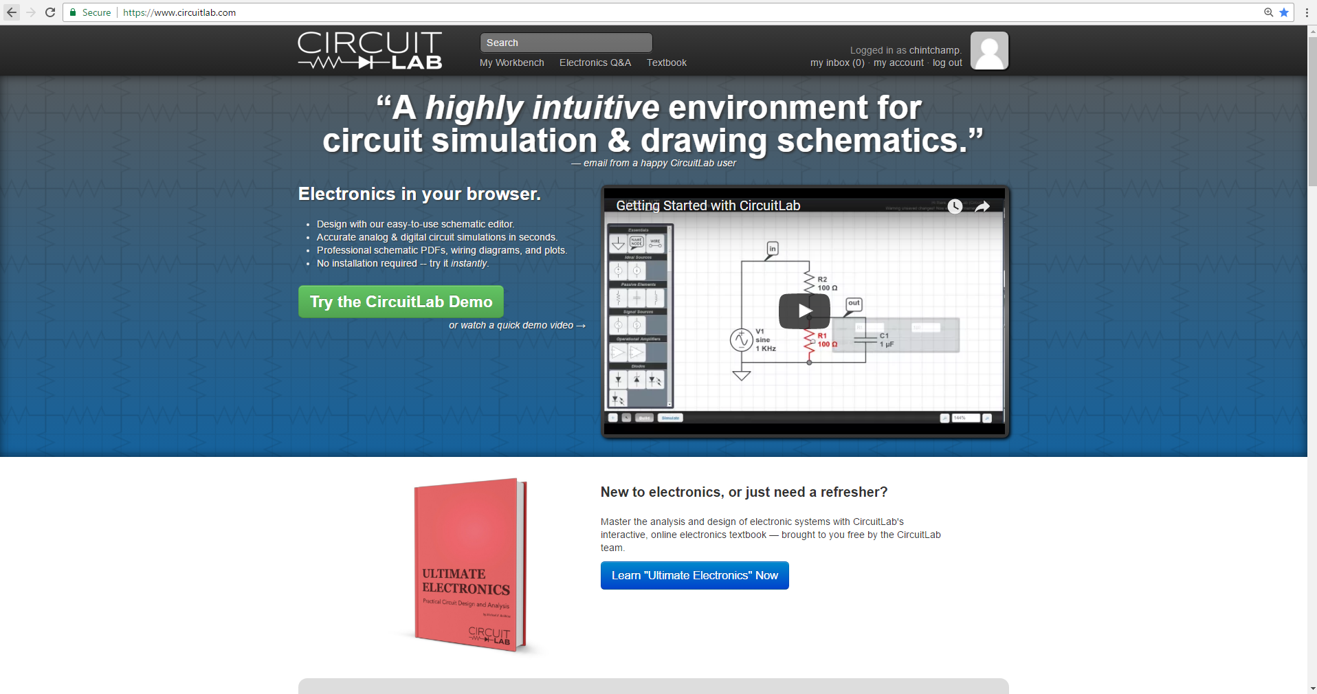 Circuitlab Timer Circuit Diagram Also Online Schematic Editor Https Circuitlabcom
